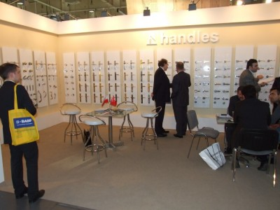 Company stand HANDLES HA-KAN METAL on trade show BUDMA 2012