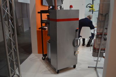 Company stand MAGUIRE Europe on trade show PLASTPOL 2015