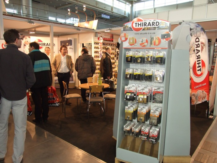 Company stand THIRARD on trade show BUDMA 2012