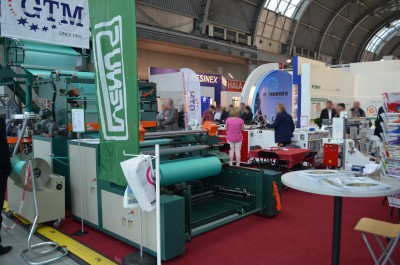 Company stand GLEBA TRADING MACHINERY on trade show PLASTPOL 2015