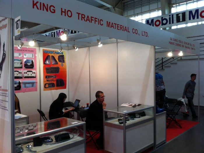 Stoisko firmy KING HO TRAFFIC MATERIAL Co.,Ltd. na targach Fit - Expo 2011