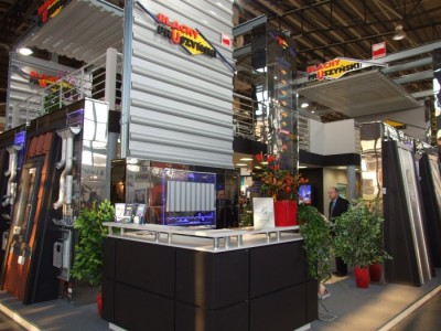 Company stand PRUSZYŃSKI Sp. z o.o. on trade show BUDMA 2012