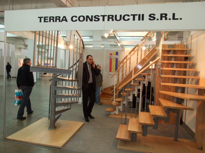 Company stand TERRA CONSTRUCTII SRL on trade show BUDMA 2012