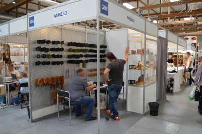 Company stand Ambero on trade show JUBINALE 2015