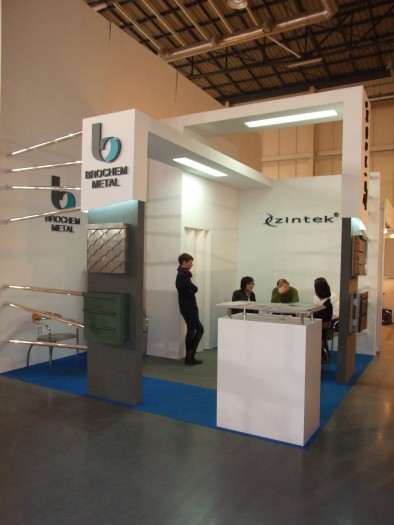 Company stand ZINTEK Srl  on trade show BUDMA 2012