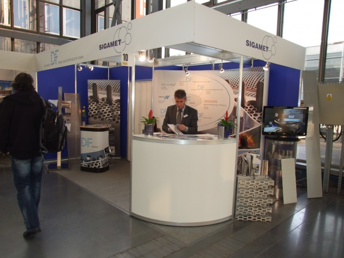 Company stand SIGAMET on trade show BUDMA 2012