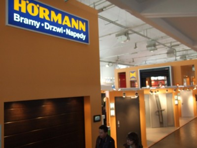 Company stand HÖRMANN POLSKA Sp. z o.o. on trade show BUDMA 2012