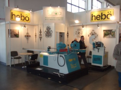 Company stand TARGA Sp. z o.o. on trade show BUDMA 2012