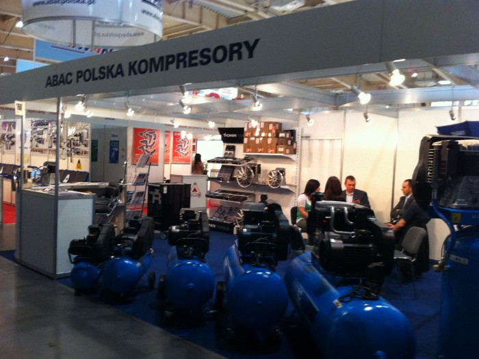 Company stand ABAC Polska on trade show Fit - Expo 2011