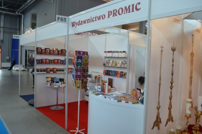 Company stand PROMIC Wydawnictwo on trade show SACROEXPO & EXPOSITIO 2015