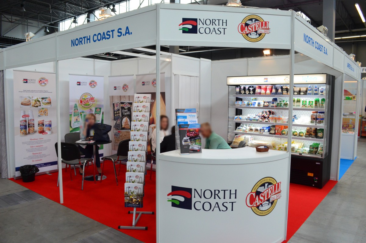 Company stand NORTH COAST S.A. on trade show PLME 2015