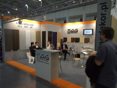 Company stand AG DEKOR - G. Augustyniak Sp.j. on trade show FURNICA 2012