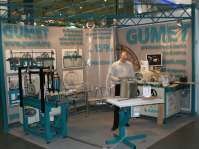 Company stand GUMET on trade show DREMA 2011