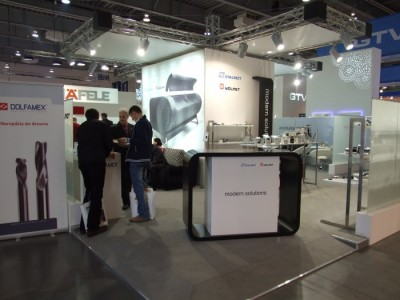 Company stand STALMOT Sp. z o.o. on trade show FURNICA 2012