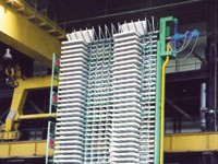 Product, Line for the production of extruded polystyrene (XPS) panels from company GAMMA MECCANICA S.p.A