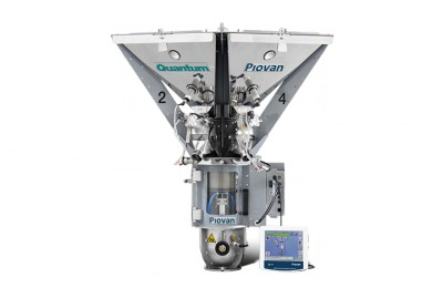 Product, Quantum batch gravimetric blender from company PIOVAN S.p.A