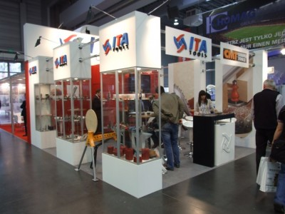 Company stand ITA TOOLS Sp. z o.o. on trade show DREMA 2012