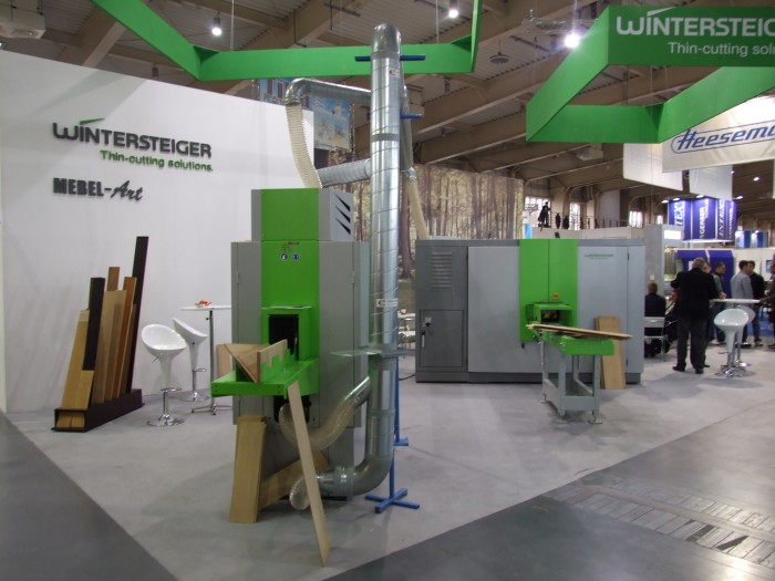Company stand WINTERSTEIGER AG on trade show DREMA 2012