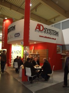 Company stand A.D. System Ltd. Sp. z o.o. on trade show DREMA 2012
