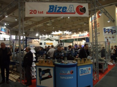 Company stand BizeA Sp. z o.o. on trade show DREMA 2012