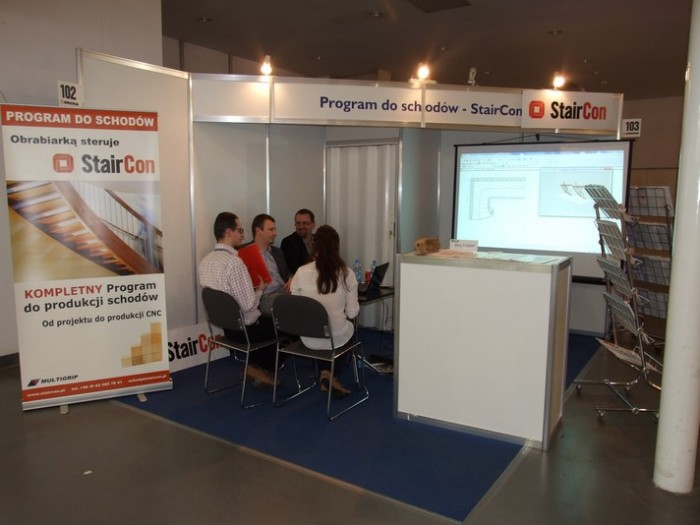 Company stand STAIRCON - Multi Grip on trade show DREMA 2012
