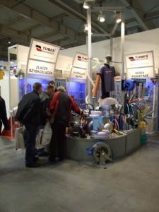 Company stand TUBES International Sp. z o.o. on trade show DREMA 2012