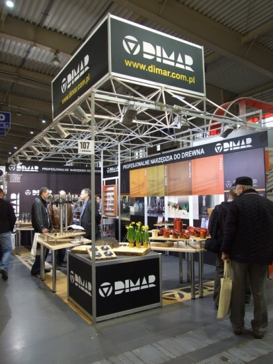 Company stand DIMAR GRUPA Sp. z o.o. on trade show DREMA 2012