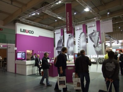 Company stand LEUCO Polska Sp. z o.o. on trade show DREMA 2012