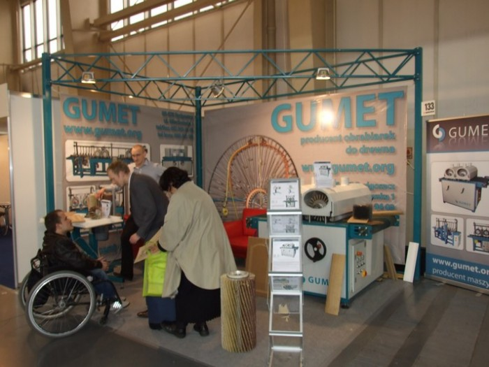 Company stand GUMET on trade show DREMA 2012