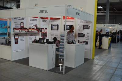 Company stand Autel Intelligent Technology Co., Ltd on trade show APAE & RTE 2015