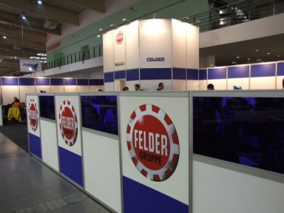 Company stand FELDER Group Polska Sp. z o.o. on trade show DREMA 2012