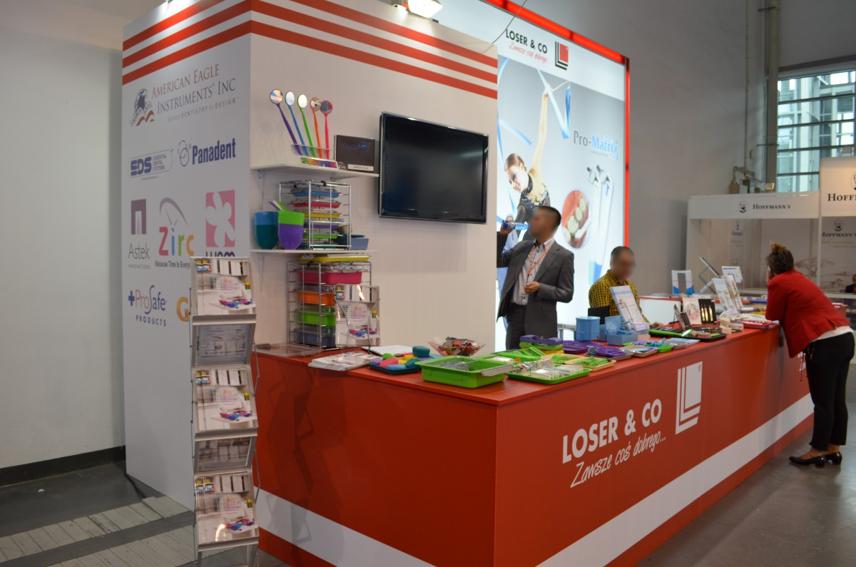 Company stand Loser & Co GmbH on trade show CEDE 2015