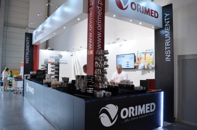 Company stand Orimed Sklep stomatologiczny on trade show CEDE 2015