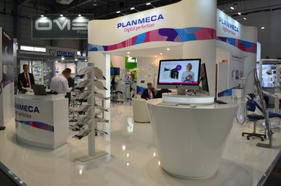 Company stand PLANMECA OY on trade show CEDE 2015