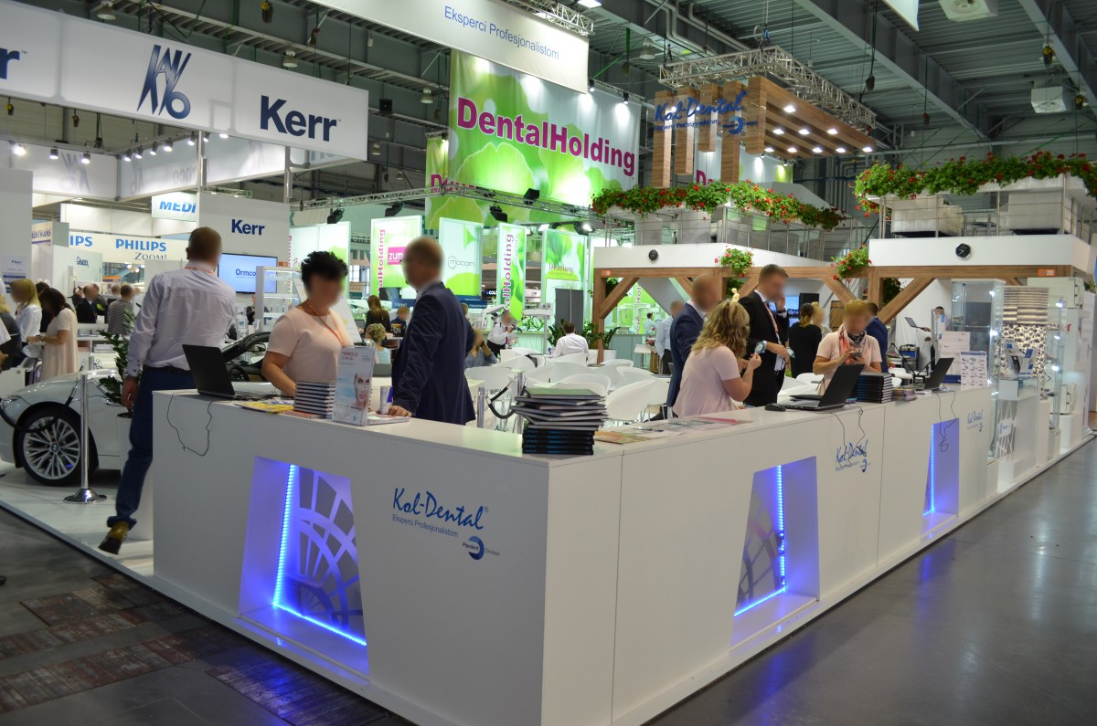 Company stand KOL-DENTAL Sp. z o.o. on trade show CEDE 2015