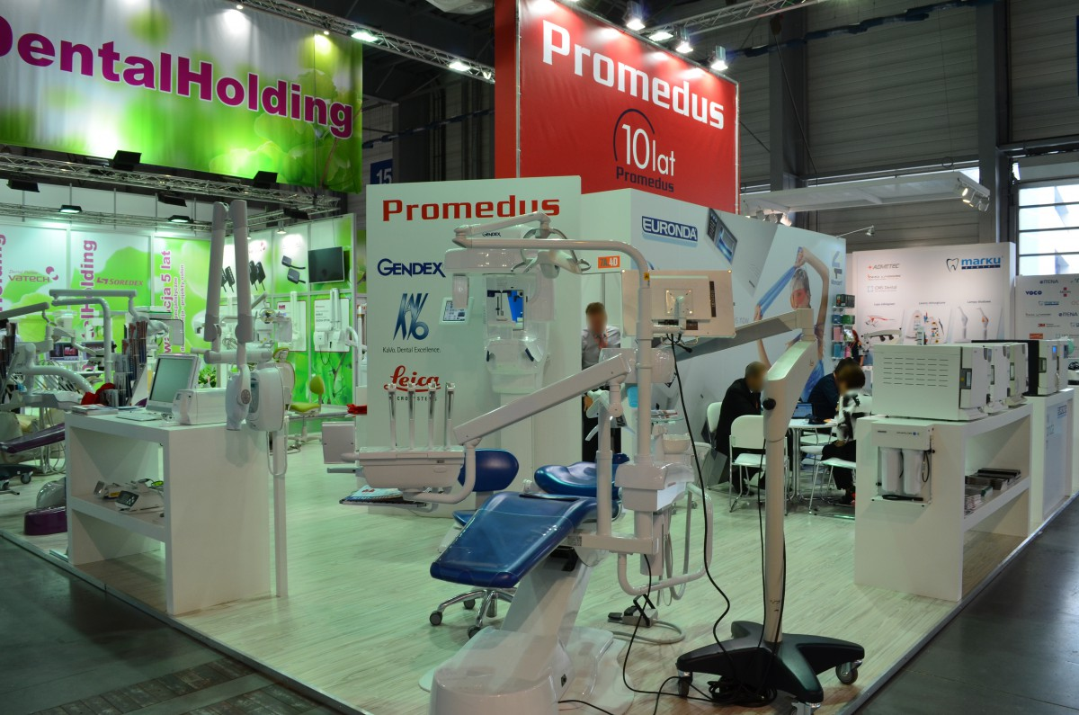 Company stand PROMEDUS Sp. z o.o. on trade show CEDE 2015