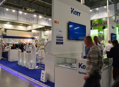Company stand KERR SpofaDental on trade show CEDE 2015
