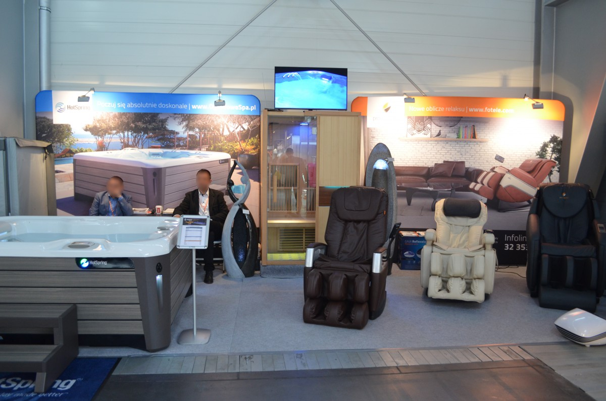 Company stand Pro-Wellness on trade show CEDE 2015