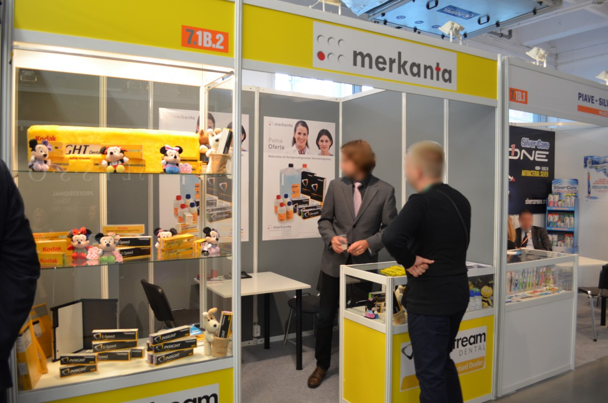 Company stand MERKANTA on trade show CEDE 2015