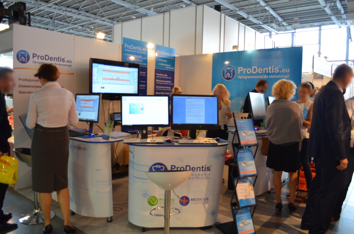 Company stand PRODENTIS - INFOTEL on trade show CEDE 2015