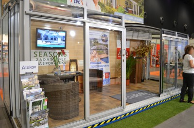 Company stand ALUTHERM Sp. z o.o. on trade show Warsaw Build & Aqua-Therm Warsaw 2015