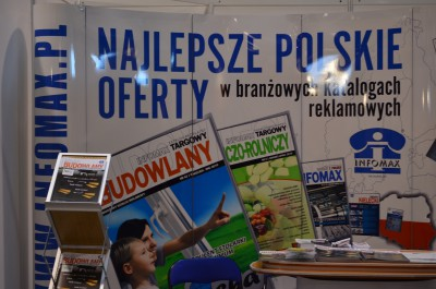 Company stand Infomax Sp.j. on trade show SIBEX JESIEŃ 2015