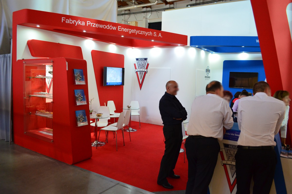 Company stand Belos-plp Sa on trade show ENERGETAB 2015