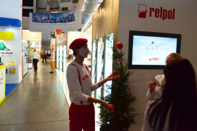 Company stand RELPOL S.A. on trade show ENERGETAB 2015