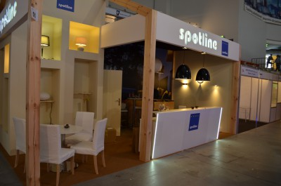 Company stand SPOTLINE Sp.j. on trade show ENERGETAB 2015