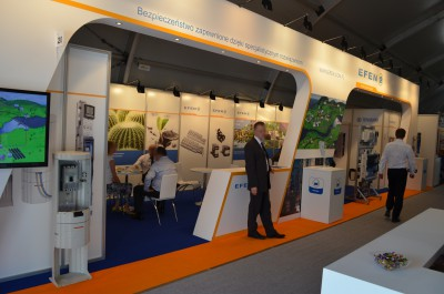 Company stand Efen Sp. z o.o. on trade show ENERGETAB 2015