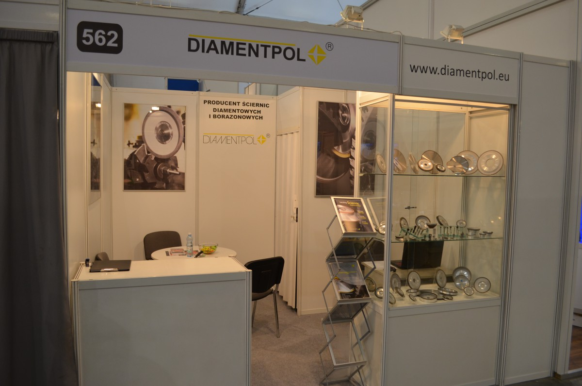 Company stand DIAMENTPOL Sp.j. on trade show TOOLEX & WIRTOTECHNOLOGIA & LASEREXPO & SteelMET & OILexpo & SURFPROTECT & TEZ Expo 2015