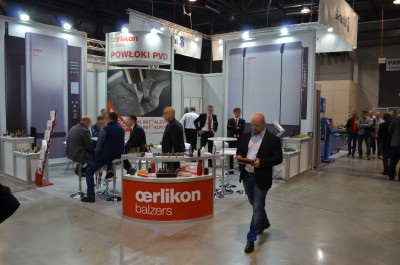 Company stand OERLIKON BALZERS COATING POLAND Sp. z o.o. on trade show TOOLEX & WIRTOTECHNOLOGIA & LASEREXPO & SteelMET & OILexpo & SURFPROTECT & TEZ Expo 2015