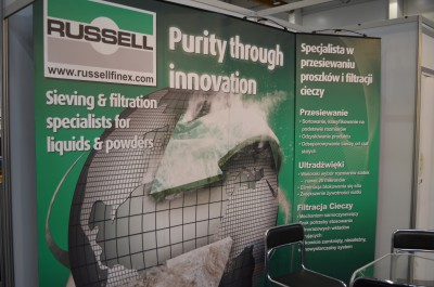 Company stand Rusell Finex N.V. on trade show SyMas & Maintenance 2015