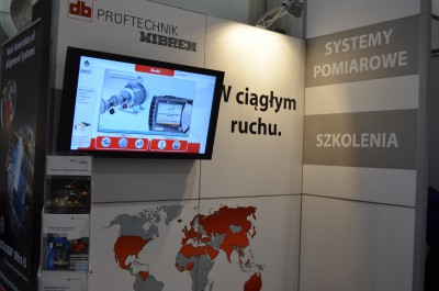 Company stand PRUFTECHNIK - WIBREM Sp. z o.o. on trade show SyMas & Maintenance 2015